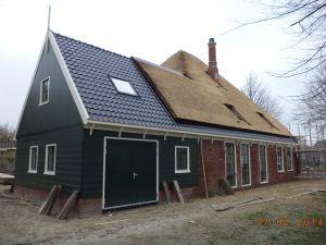 Aanbouw gerealiseerd in opdracht van de Fam. Floris aan de Koningspade 4 te Hoogwoud